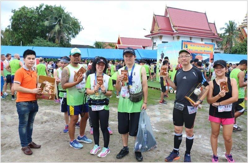 กิจกรรม CSR ครั้งที่ 3 สนับสนุนกิจกรรมการกุศล Run for Kids วิ่งด้วยใจ ให้ด้วยรัก