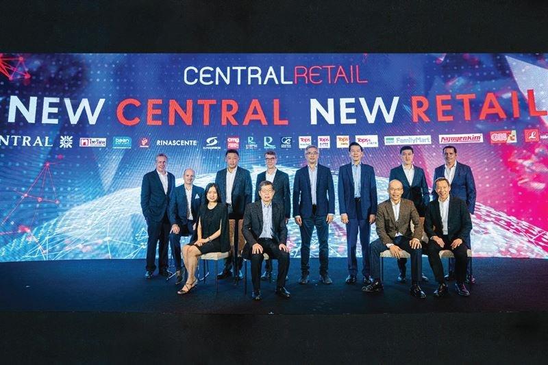 """เซ็นทรัล รีเทลสร้างประวัติศาสตร์หน้าใหม่ค้าปลีกไทยสู่ระดับโลก เคลื่อนทัพใหญ่มุ่งสู่ """"New Central New Retail"""""""