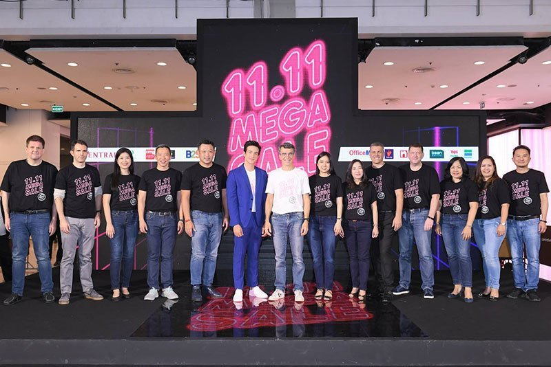 Central Retail brings the best of in-store and online shopping to Thailand during 11.11 shopfest