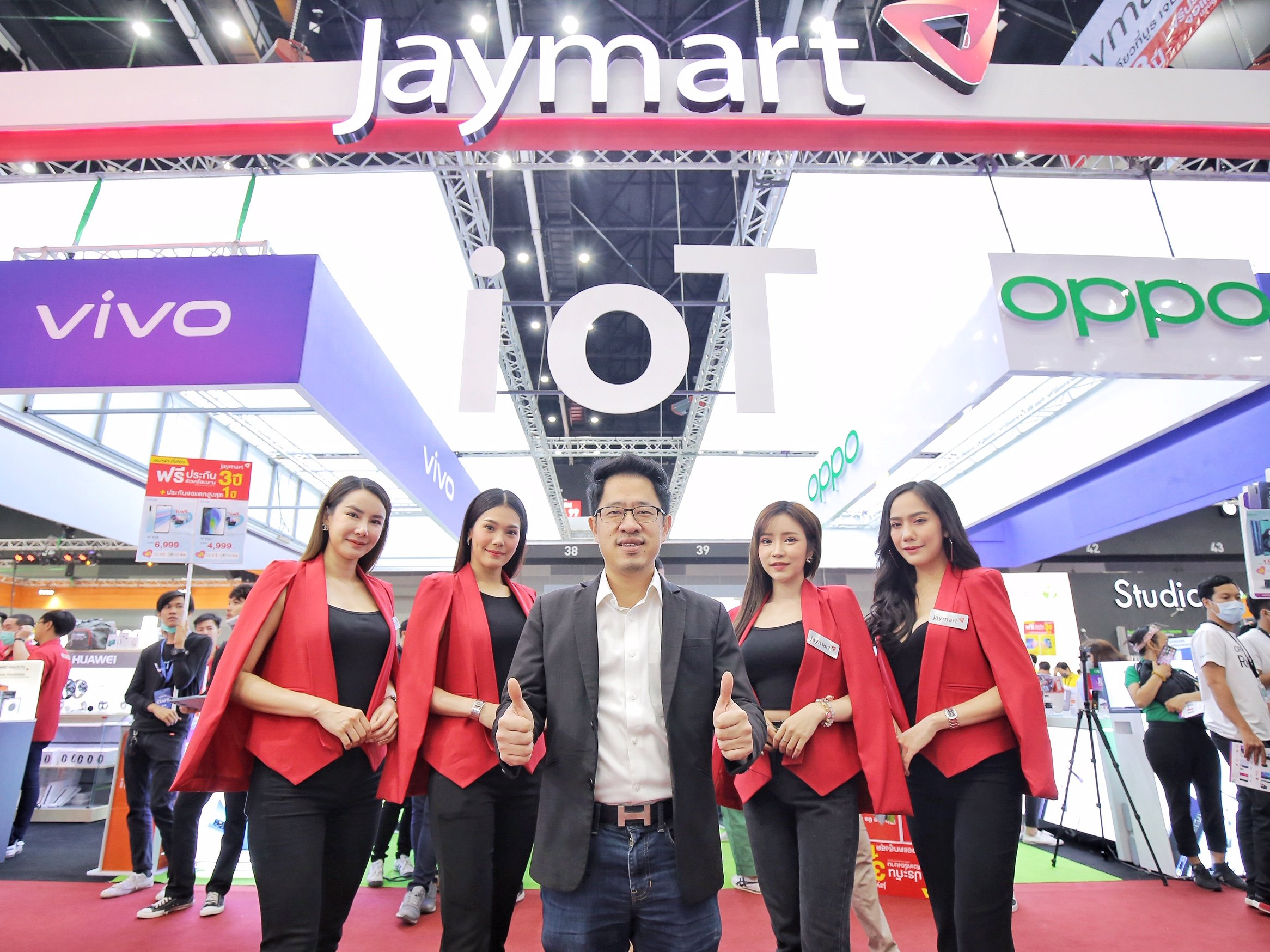 เจมาร์ท โมบาย ตอกย้ำกลยุทธ์มุ่งสู่การเป็น Gadget destination