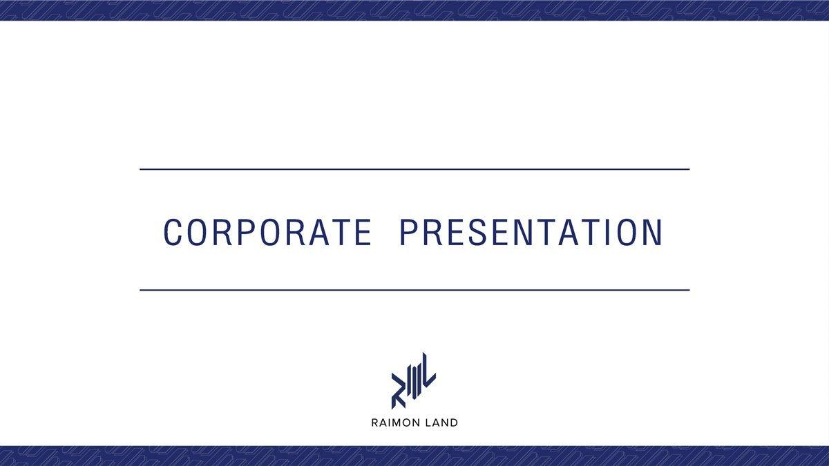 Corporate Presentation, June 2021