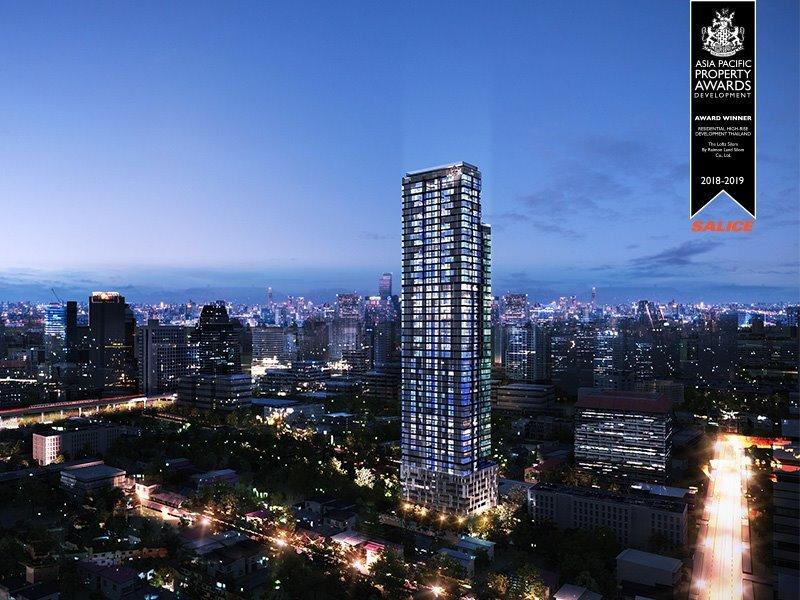 Raimon Land's The Lofts Silom Wins Asia Pacific Property Award