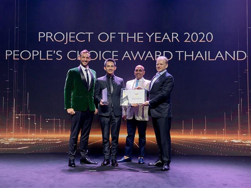 """""""ไรมอน แลนด์"""" คว้า 2 รางวัล BEST LUXURY CONDOMINIUM BANGKOK 2020 และ PEOPLE'S CHOICE AWARD FOR PROJECT OF THE YEAR 2020 การันตีความเป็นผู้นำการพัฒนาอสังหาริมทรัพย์ระดับลักซ์ชัวรี่ของประเทศไทย"""