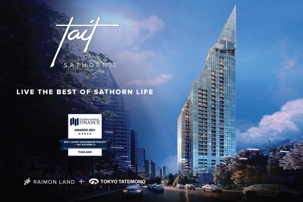 Tait Sathorn 12 Wins Best Luxury Condominium Project 2021