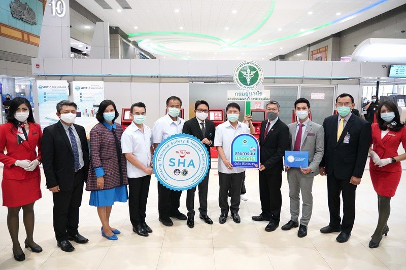 AirAsia Thailand Receives Tourism Authority of Thailand's SHA Certification Affirming Robust Health and Safety Standards