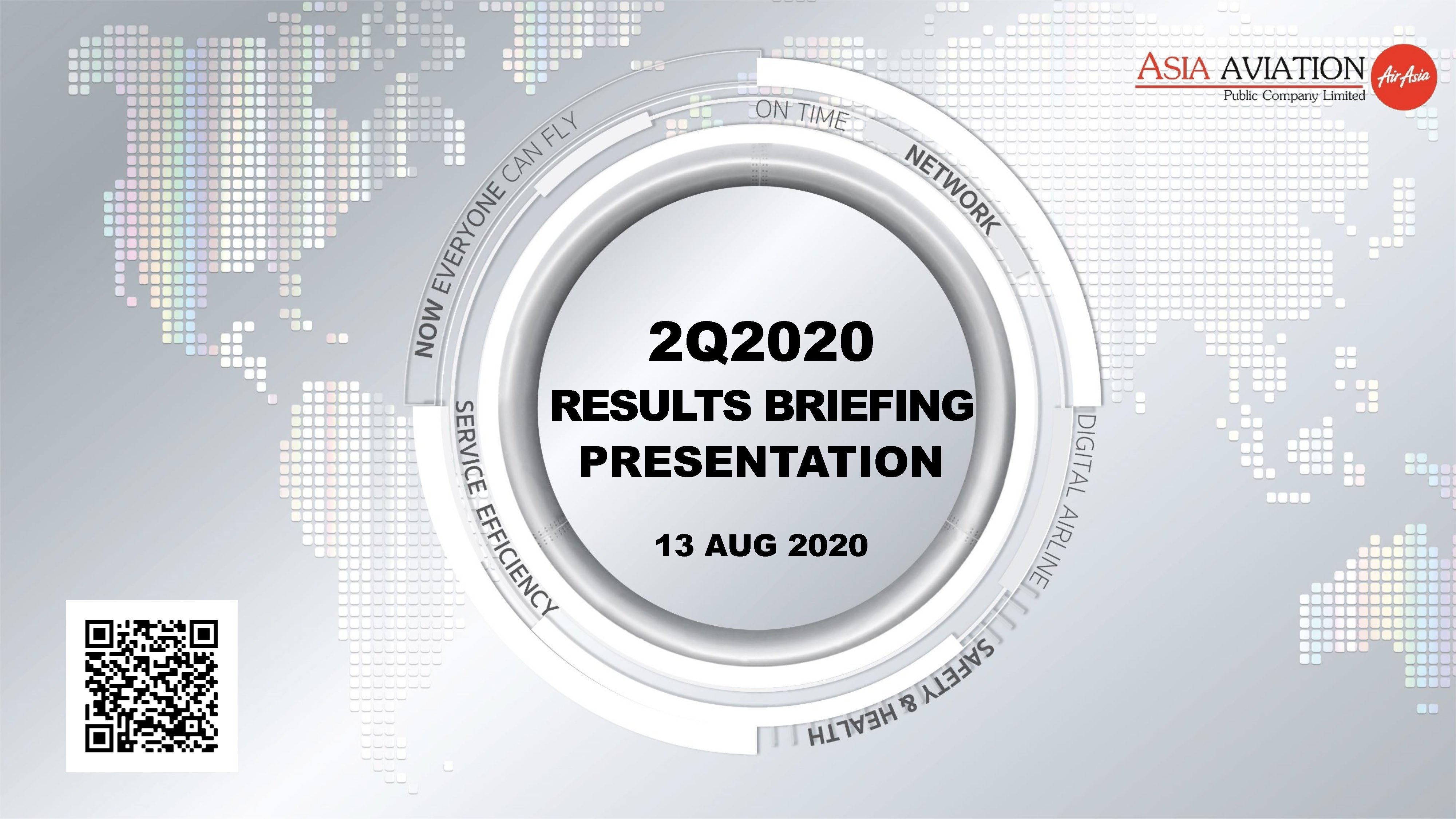 RESULTS BRIEFING Q2/2020