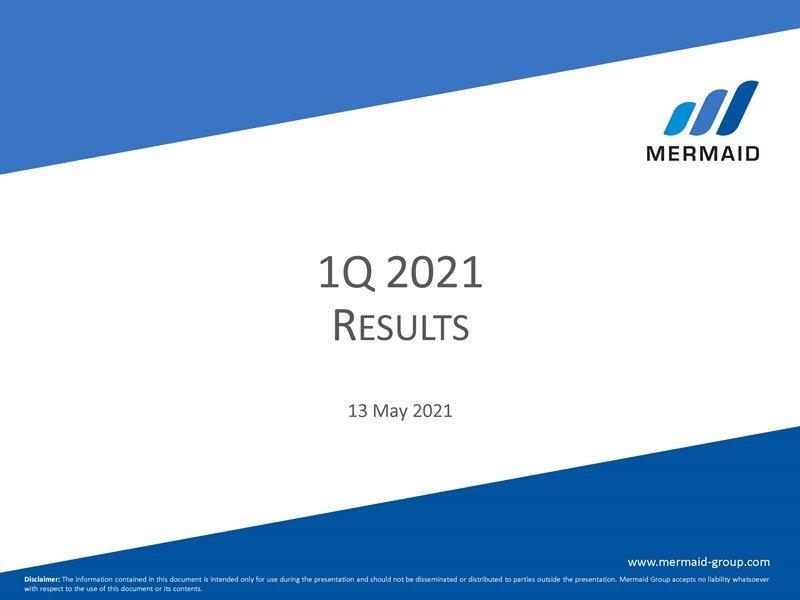 Mermaid Results Presentation 1Q/2021