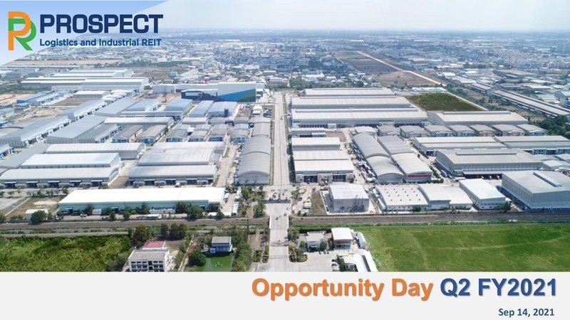Opportunity Day Quarter 2/2021