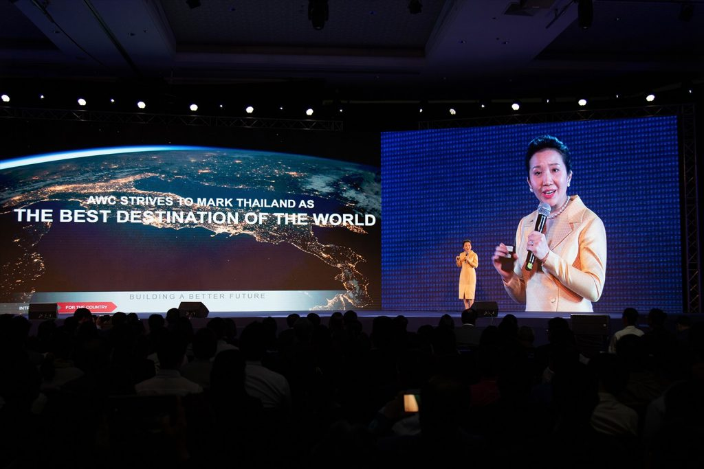 "Asset World Corporation provides a vision to raise the benchmark of tourism industry through lifestyle real estate projects in the Seminar ""Thailand 2020 Fight The Economic Storm"" by Prachachat Turakij"