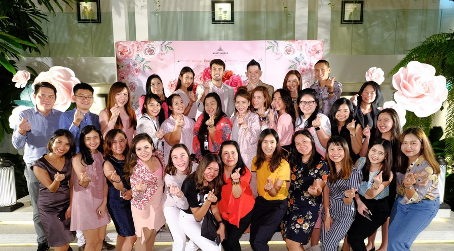 AWC celebrates the day of love with an exclusive romantic Meet & Greet with Boy-Pakorn