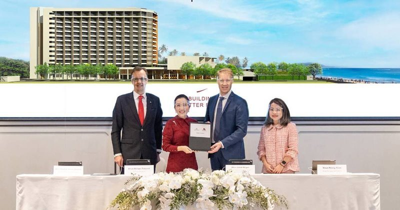 AWC and Marriott International ink agreement to manage Pattaya Marriott Resort & Spa at Jomtien Beach in response to family & business travel demands, support the EEC project and elevate Thailand's tourism industry