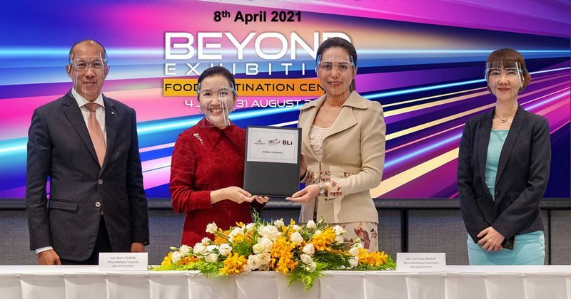 AWC announces a strategic partnership with BLI (Thailand) to strengthen its positioning as a fully integrated wholesale hub of AEC TRADE CENTER - PANTIP WHOLESALE DESTINATION